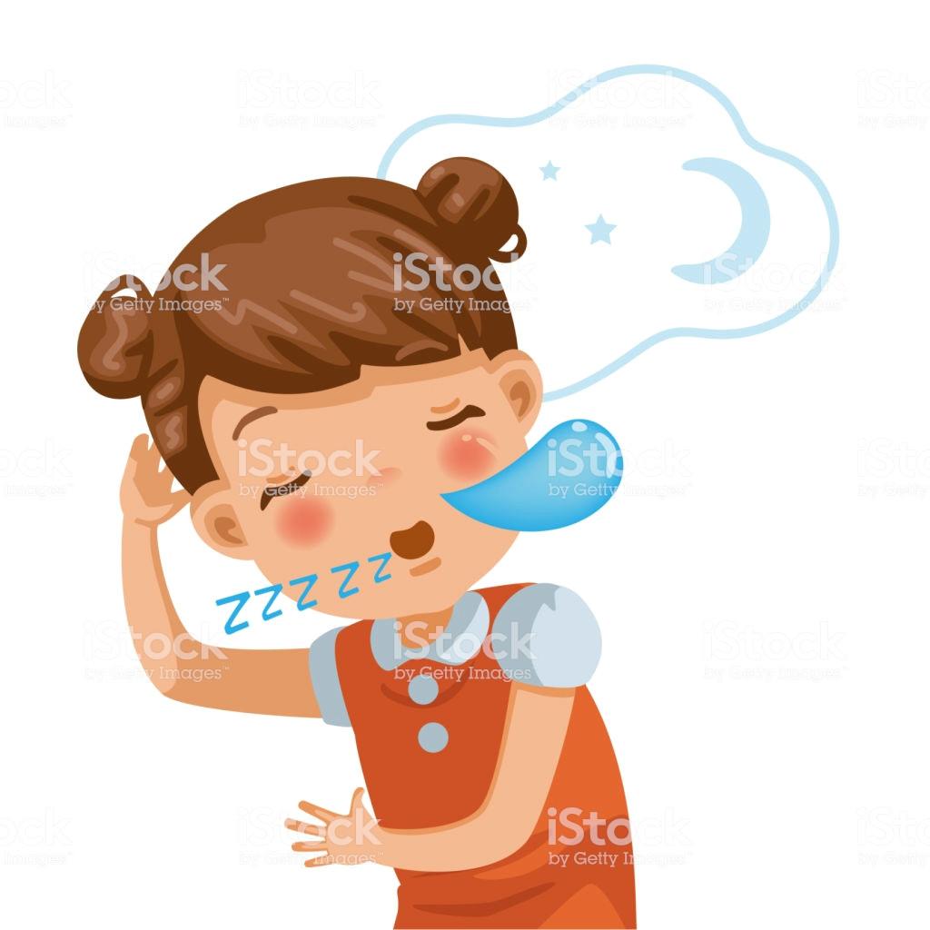 little girl sleeping vector id1097678238