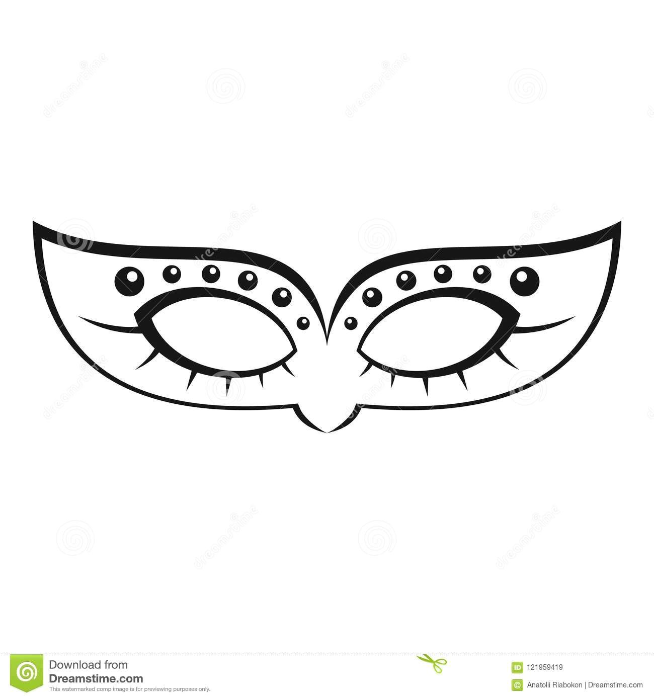 mardi carnival mask icon simple style mardi carnival mask icon simple illustration mardi carnival mask vector icon web 121959419 jpg