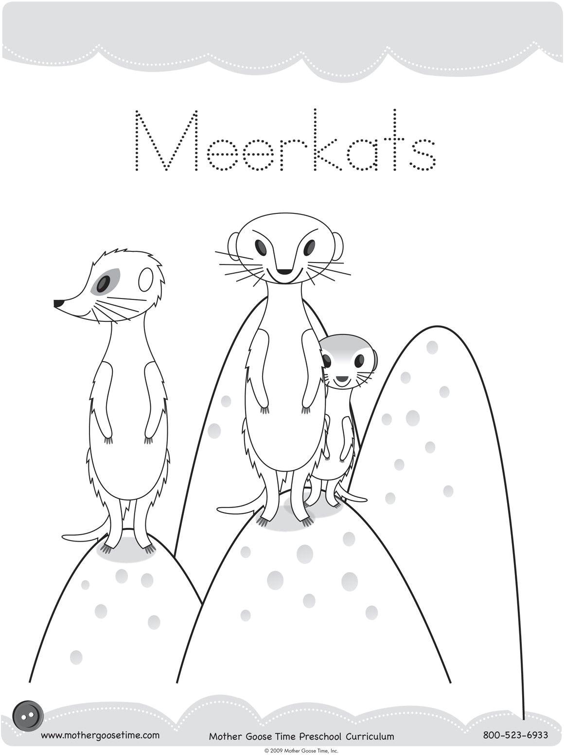 Meerkat Drawing Easy Image Result for Meerkat Drawing Kids Erdmannchen