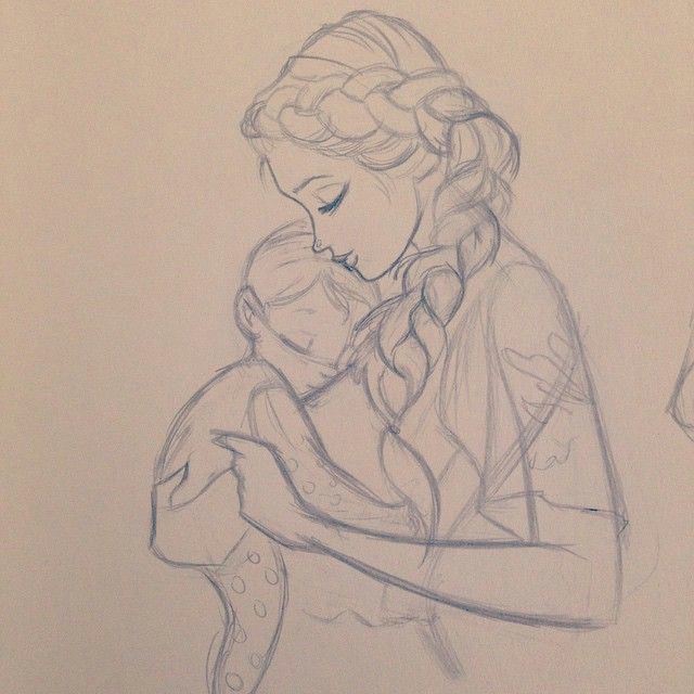 Mom Drawing Easy Happy Mothers Day Mom Drawing Mothers Day Drawings Cute