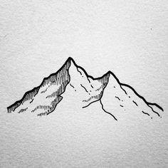 27fdac219cf47d91e3fe45fb6f54f984 mountain illustration illustration simple jpg