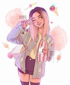 610d8925513b3fcfc956dab6323040cb drawing girl tumblr tumblr draw jpg