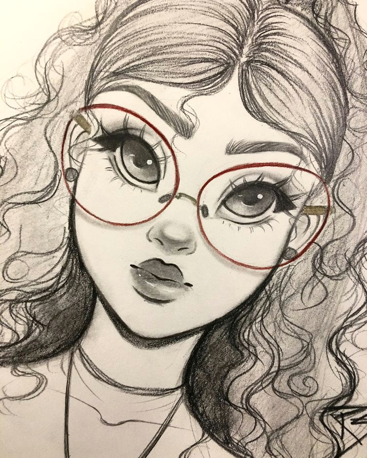 Pictures Of Drawings Of Girls Pin On Art