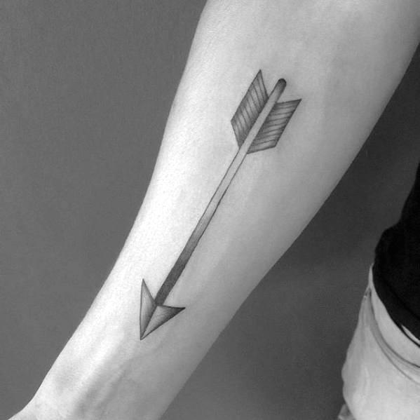 40 simple arrow tattoo designs for men sharp ink ideas jpg