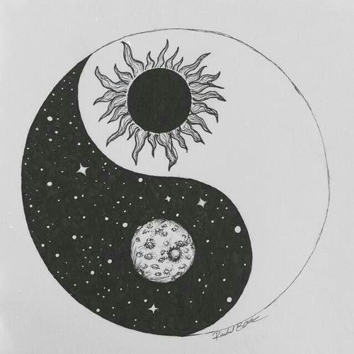 Yin Yang Drawing Ideas Yin Yang Yin Yang Tattoos Zeichenvorlagen Und Kunst Tattoos