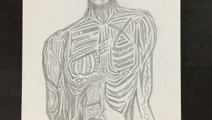 073 Drawing original Drawing 073 Body Energy Sean Martorana 100 00 8 25 X