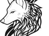 1 Line Drawing Wolf 28 Best Easy Wolf Tattoos Images Simple Wolf Tattoo Awesome