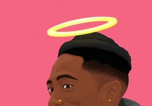 2pac Cartoon Drawing Check Out Simonelovee A Black Art A Dope Art Tupac Shakur