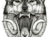 3 Wolf Drawing Wolf In Sheep Skin Tats 3 Tattoos Art Wolf Tattoos