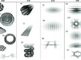 3d H Drawing 0da 3d Allotropes Of Sp 2 Carbon Fullerene A Onion B Nanocone