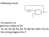 3d Z Drawing solved Given the Following Circuit assume Delay Of Inve