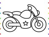 4 Wheeler Easy Drawing How to Draw A Motorcycle Easy Step by Step Coloring Pages for