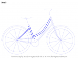 4 Wheeler Easy Drawing Learn How to Draw A Cute Bicycle Two Wheelers Step by Step
