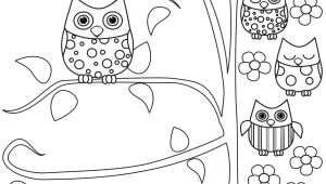 5 Cartoon Drawings Printable Coloring Pages Owls Fresh Free Owl Elegant Cds 0d 5