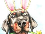 Aggressive Dog Drawing Illustrationen Und Portraits Von Hunden Sam Dog Art Drawings
