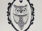 Animal Pattern Drawing My Mini Owl Drawing Owl Drawing Draw Frame Animal