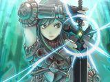 Anime Drawing 1920×1080 Anime 1920×1080 Anime Fantasy Art Anime Girls Sword Armor original