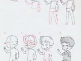 Anime Drawing Step by Step Boy Manga Interest Chibi Boy Standing How to Draw A Chibi Boy