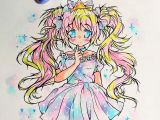 Anime Drawing with Color Stunning Manga Drawing by Kiricheart Using their Chameleon