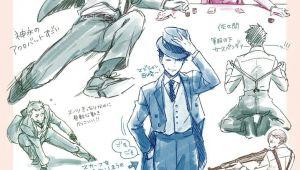 Anime Joker Drawing Joker Game Reference for Drawing Pinterest Joker Game Games