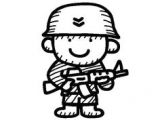 Army Drawing Easy 10 Best Printable Images soldier Drawing Drawing for Kids