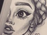 Art Girl Drawing Pencil Pin by Mikayla Justice On Cool Projects Pencil Sketch