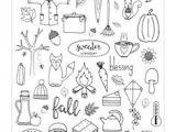 Autumn Drawing Ideas Freebie Friday Fall A5 Dashboard Autumn Doodles Bullet