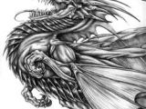 Awesome Drawing Of Dragons 136 Best Lineart Dragons Images Dragons Dragon Kites