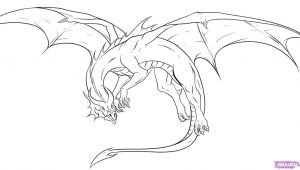 Awesome Drawing Of Dragons Awesome Drawings Of Dragons Drawing Dragons Step by Step Dragons