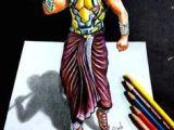 Bahubali 2 Drawing Easy 22 Best Bahubali 2 Drawing Prabhas Anushka Shetty Images 3d