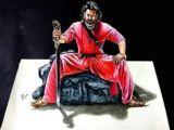 Bahubali 2 Drawings Easy 22 Best Bahubali 2 Drawing Prabhas Anushka Shetty Images 3d