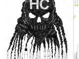 Basics Of Drawing Human Skulls Vector Artistic Drawing Illustration Of Smoke From Smokestacks