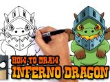 Battlefield 1 Drawing Easy How to Draw Inferno Dragon Clash Royale Youtube