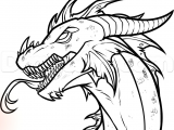 Best Drawings Of Dragons How to Draw An Easy Dragon Head Step 12 Drawing Drawi