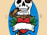 Blank Drawing Of A Heart Heart and Blank Scrolls Tattoo Design Skull Snake and Heart Tattoo
