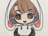 Bts V Anime Drawing Easy 21 Best Art Images