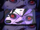 Cartoon Anime Drawings Naruto Cartoon Charakter Telefon Case Blutrad Auge Fur iPhone Xs Max X Imd Weichen Handy Case Fur iPhone 7 6 Plus