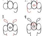 Cartoon Dog Easy to Draw Pin Auf Cartoon