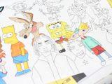 Cartoon Drawing 90s Speed Drawing 90s Cartoon Charcaters Joshvisuals Youtube