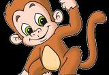 Cartoon Drawing Banana Funny Baby Monkey Pictures Monkeys Cartoon Clip Art Cakes