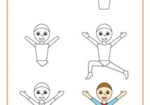 Cartoon Drawing Basics Learn to Draw A Gymnast How to Draw In 2019 Drawings Learn to