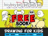 Cartoon Drawing Books for Beginners 161 Best Kids Learn How to Draw with Letters Images How to Draw