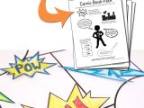 Cartoon Drawing Books for Beginners Printable Diy Comic Book Pack and Drawing Resources Crafting