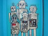 Cartoon Drawing Classes Chicago Chicago Street Art Art Street Art Robot Art Art