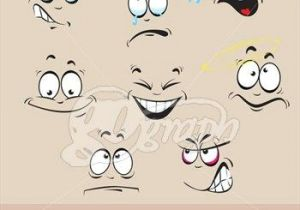 Cartoon Drawing Emotions Cartoon Surprise Clip Art Stock Illustration Cartoon Emotions