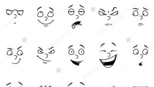 Cartoon Drawing Expressions Simple Woman Cartoon Facial Expressions Buscar Con Google Art
