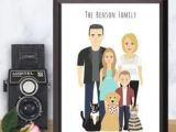 Cartoon Drawing Family Portrait 2534 Best Cartoon Drawings Images In 2019