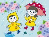 Cartoon Drawing for Class 1 Rainy Day Cartoon Rainy Season Drawing Cartoon Rainy Day