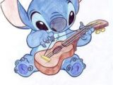Cartoon Drawing Guitar Cute Sketches Of Stitch as Elvis Google Search Art Drawings