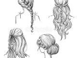 Cartoon Drawing Hairstyles Drawing Hairstyles Profile Google Search Art Diy Drawings How